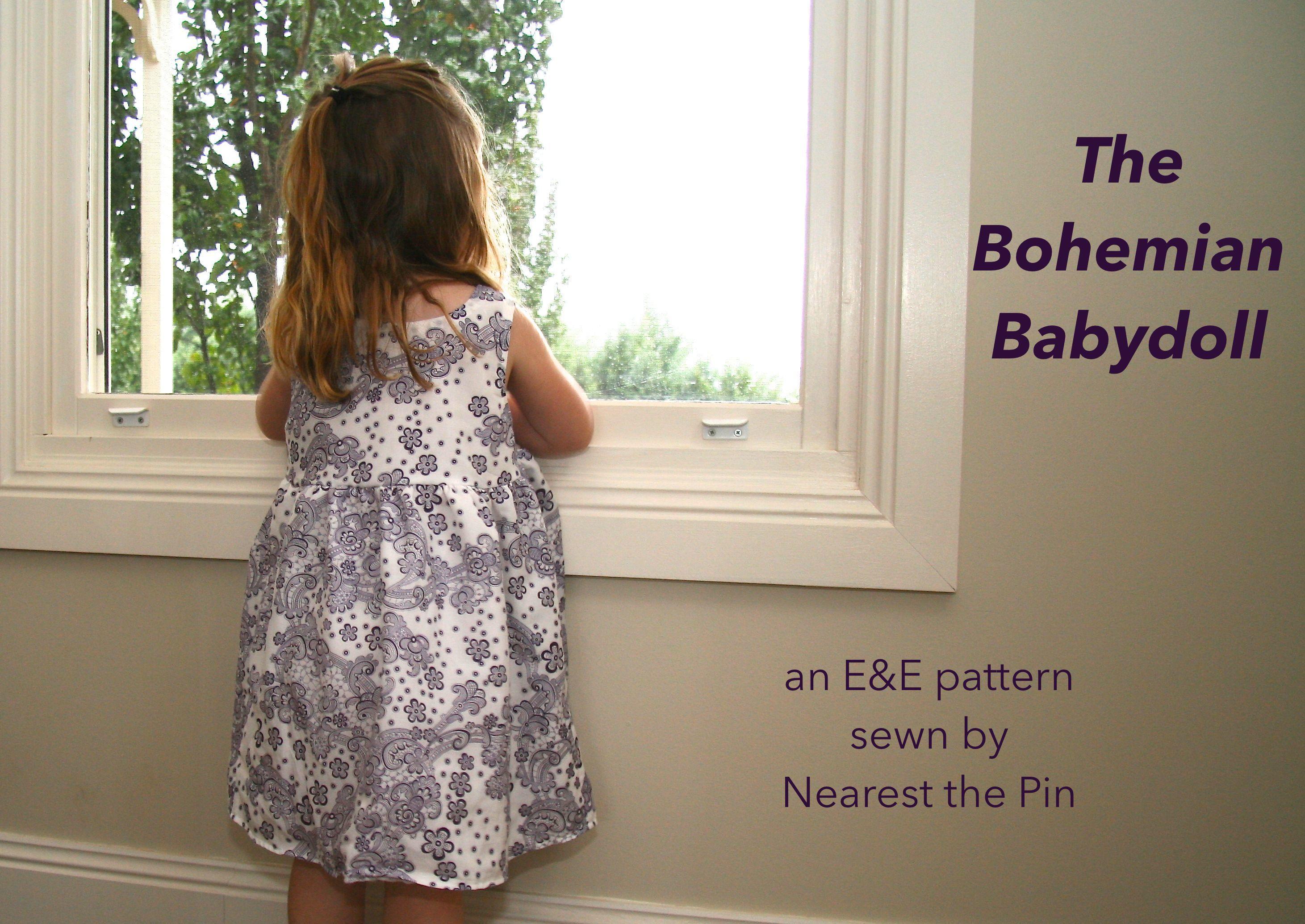 Pattern Tour Bohemian Babydoll Dress